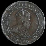 1902 Edward VII one cent
