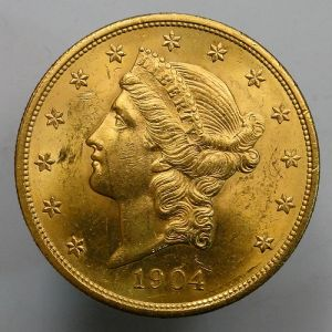 1904 USA Double Eagle $20