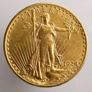 1924 USA Saint Gaudens $20