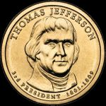2007 $1 THOMAS JEFFERSON - P