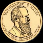 2011 $1 RUTHERFORD B. HAYES - D