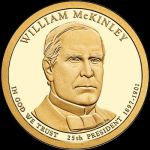 2013 $1 WILLIAM McKinley - P