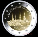 2014 - Riga, European Capital of Culture 2014 - 2 euro