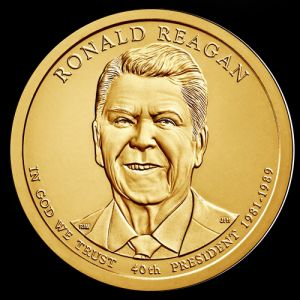 2016 $1 RONALD REAGAN  - D