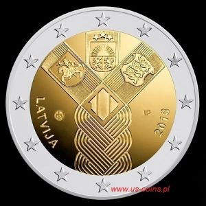 2018 Lithuania - 100 years of the Baltic States 2 euros
