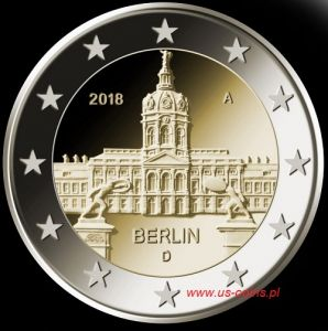 2018 Germany - Schloss Charlottenburg 2 euros