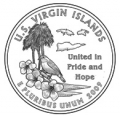 25c VIRGIN ISLANDS - D